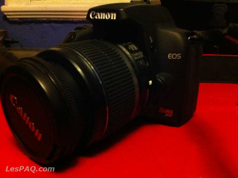 Canon Rebel XS / 2 good lenses /SD card