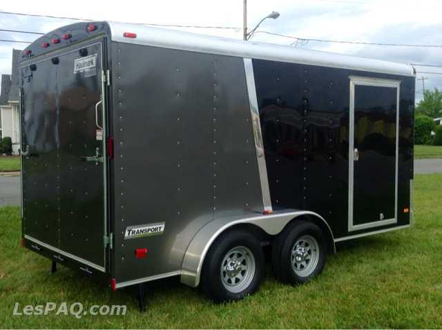 2013 remorque ferm e haulmark 7x14 v hicules vans motoris s camions. Black Bedroom Furniture Sets. Home Design Ideas