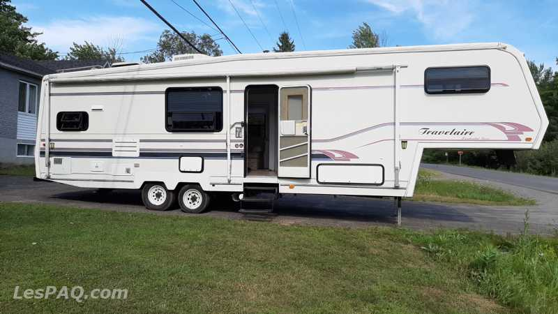 fifth wheels travelaire 34 pieds 1994